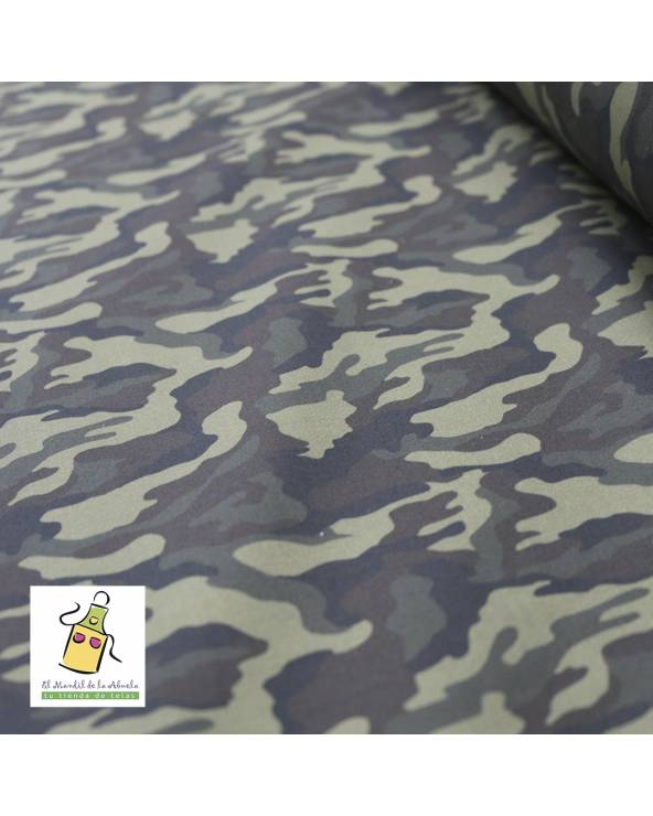 Neopreno estampado semi impermeable