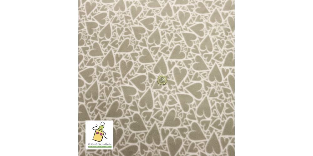 Piqué de canutillo estampado patchwork